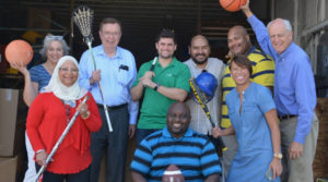 Putting used sports equipment in the hands of those less fortunate