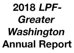 2018LPF-Greater WashingtonAnnual Report